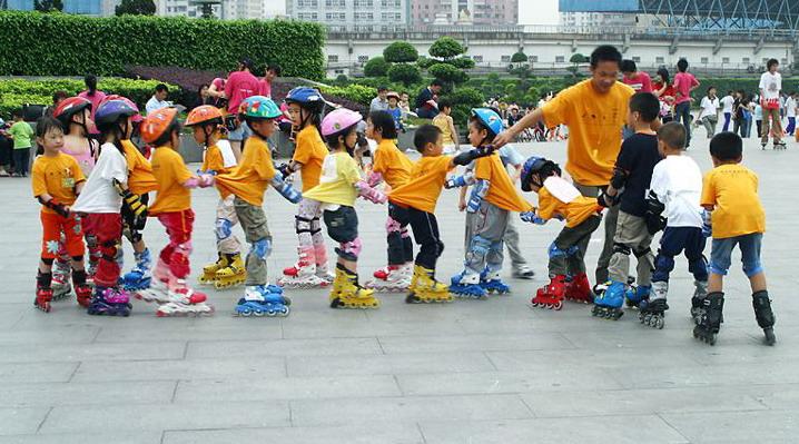 少年轮滑体验课(体验课6-12岁)
