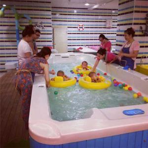 96节亲子水悦课程,促进宝宝的身体生长发育和宝宝心智的发展(0-2岁早教,免费体验)