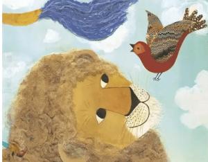 狮子和小红鸟,孩教圈