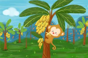 最新儿歌,儿童故事,儿童动画,睡前故事,孩教圈,为什么香蕉里看不到种子