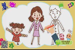 手工系列-全家福,孩教圈