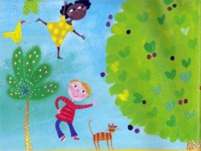 最新儿歌,儿童故事,儿童动画,睡前故事,孩教圈,Here We Go Round The Mulberry Bush