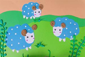 最新儿歌,儿童故事,儿童动画,睡前故事,孩教圈,草原上的小绵羊