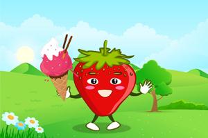 草莓整容记-小熊姐姐,孩教圈
