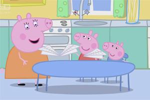 粉红猪小妹 第153集,孩教圈