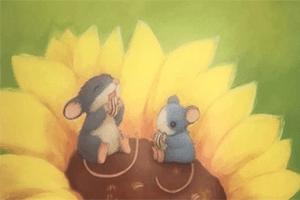 最新儿歌,儿童故事,儿童动画,睡前故事,孩教圈,暖房子经典绘本系列-妈妈的小小向日葵