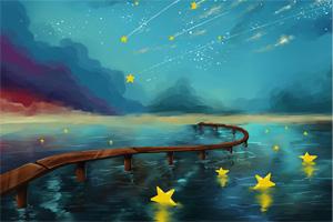 童谣《天上星星亮》《摇到外婆桥》,孩教圈