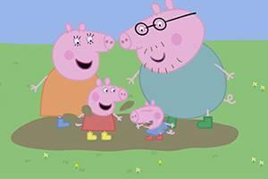 粉红猪小妹 第一集,孩教圈
